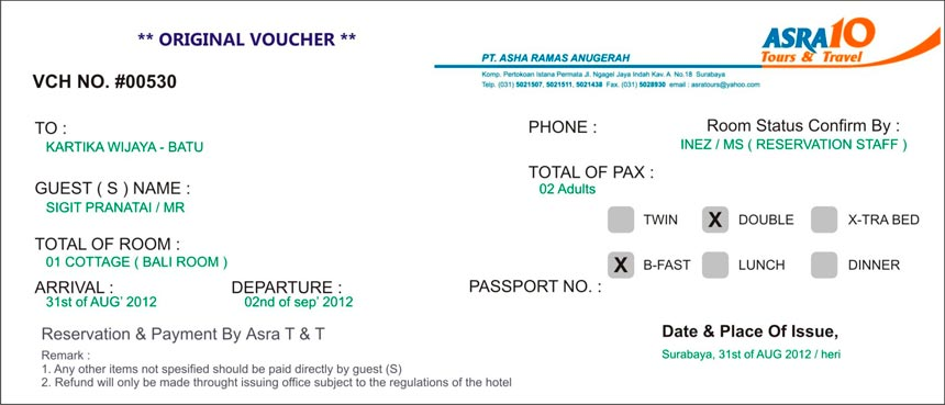 voucher-for-visa